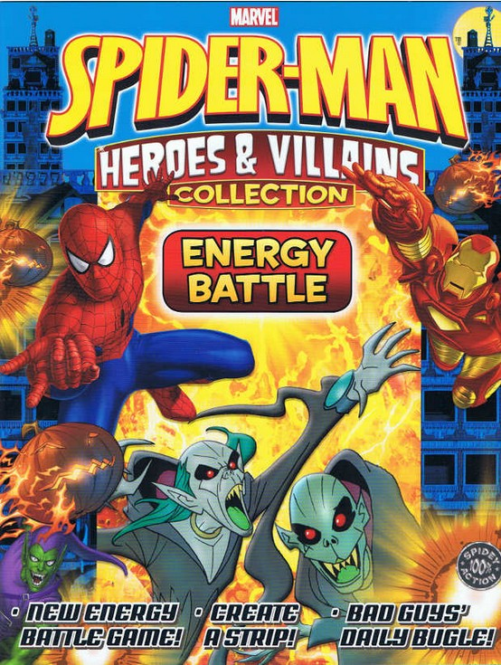 Spider-Man Heroes & Villains: Energy Battle Special Vol 1 1