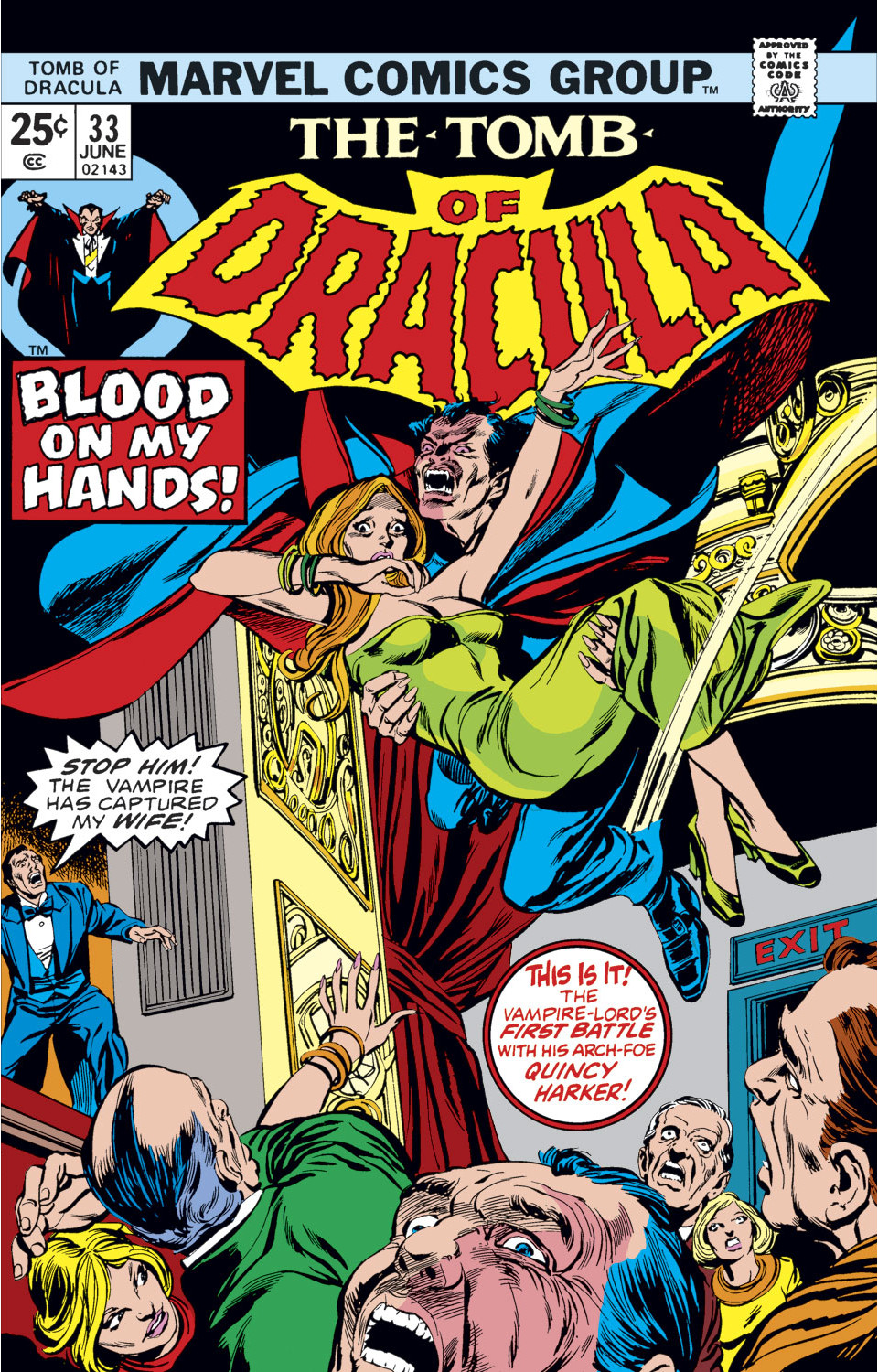 Tomb of Dracula Vol 1 33