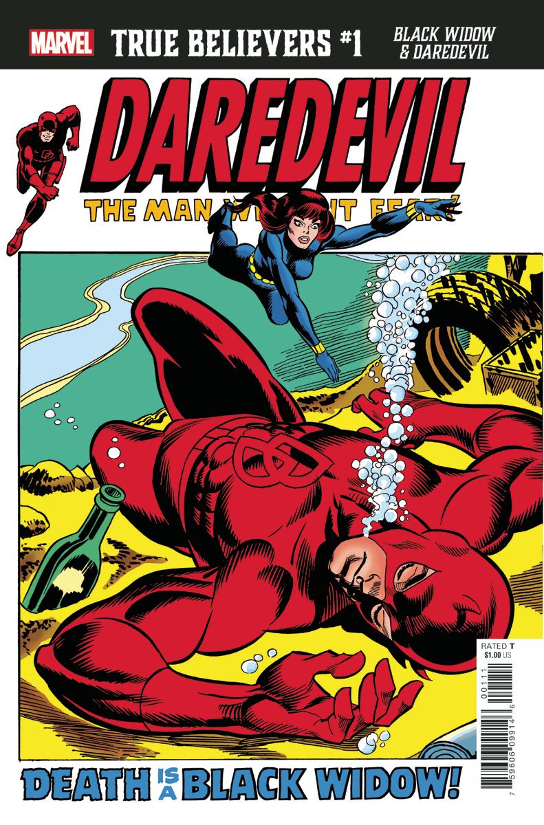 True Believers: Black Widow & Daredevil Vol 1 1