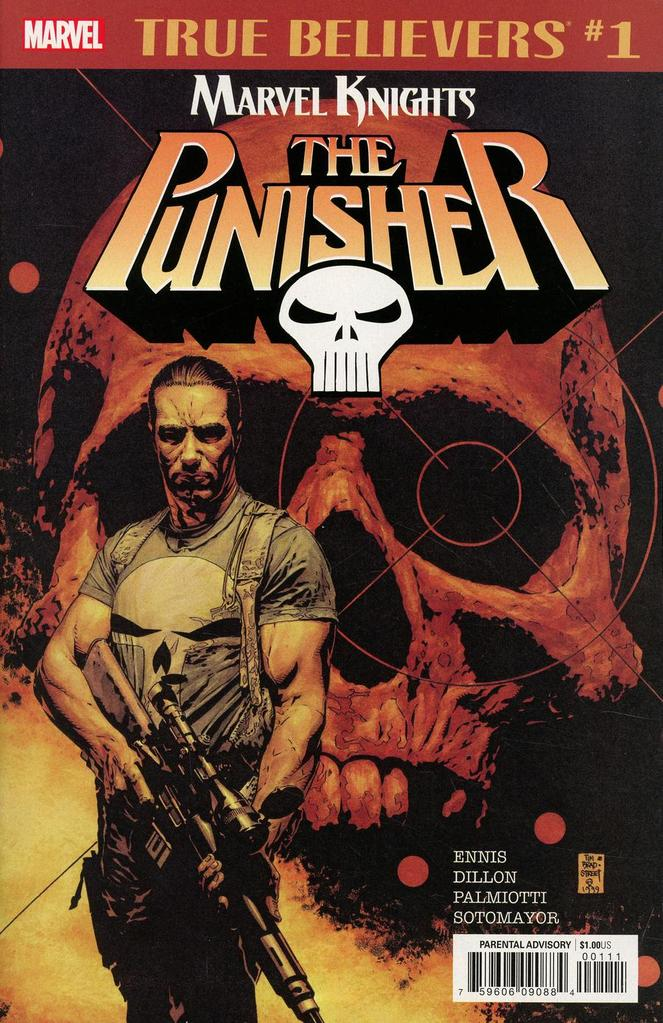 True Believers: Marvel Knights 20th Anniversary - Punisher by Ennis, Dillon & Palmiotti Vol 1