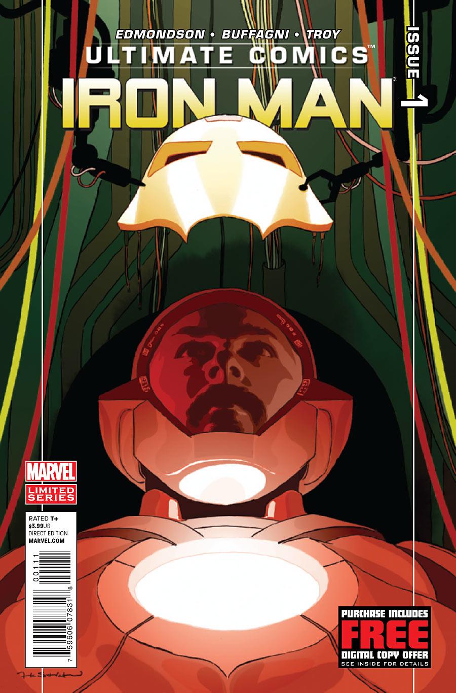 Ultimate Comics Iron Man Vol 1 1