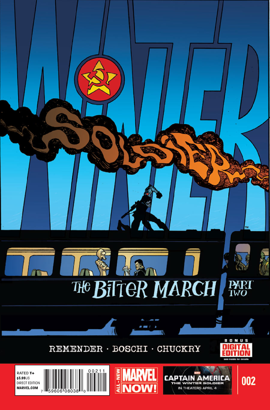 Winter Soldier: The Bitter March Vol 1 2