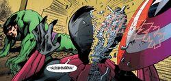 Bruce Banner (Earth-616) vs. Natalia Romanova (A.I.) (Earth-14831) from New Avengers Ultron Forever Vol 1 1 001.jpg