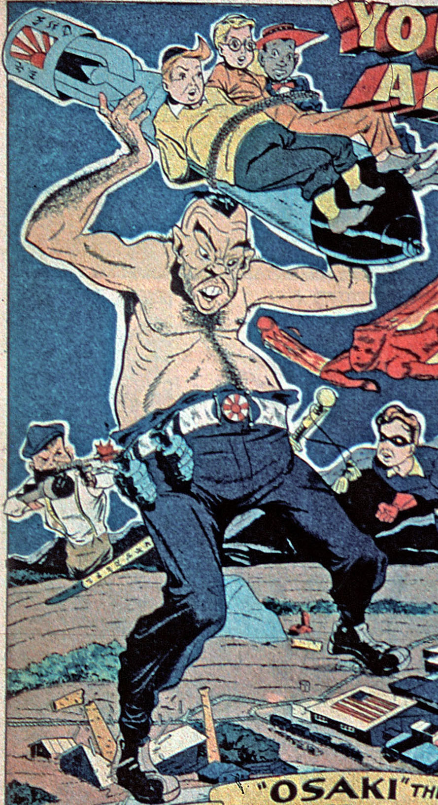 Captain Osaki (Earth-616)