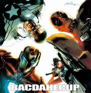 Civil War II Vol 1 1 Team Iron Man Hip-Hop Variant Textless