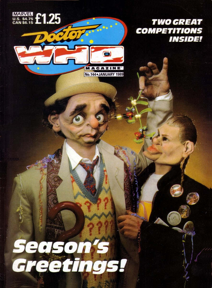 Doctor Who Magazine Vol 1 144