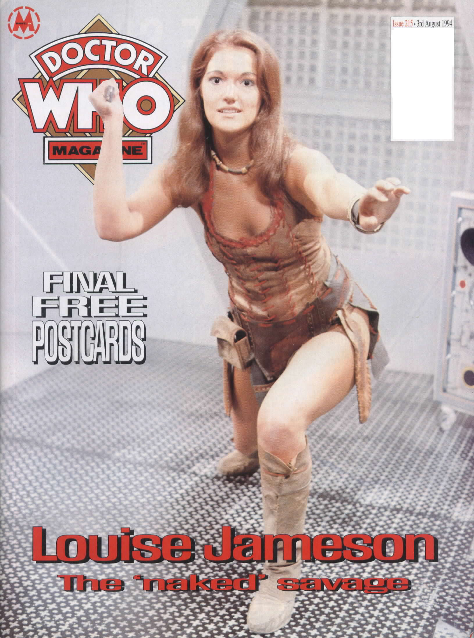 Doctor Who Magazine Vol 1 215