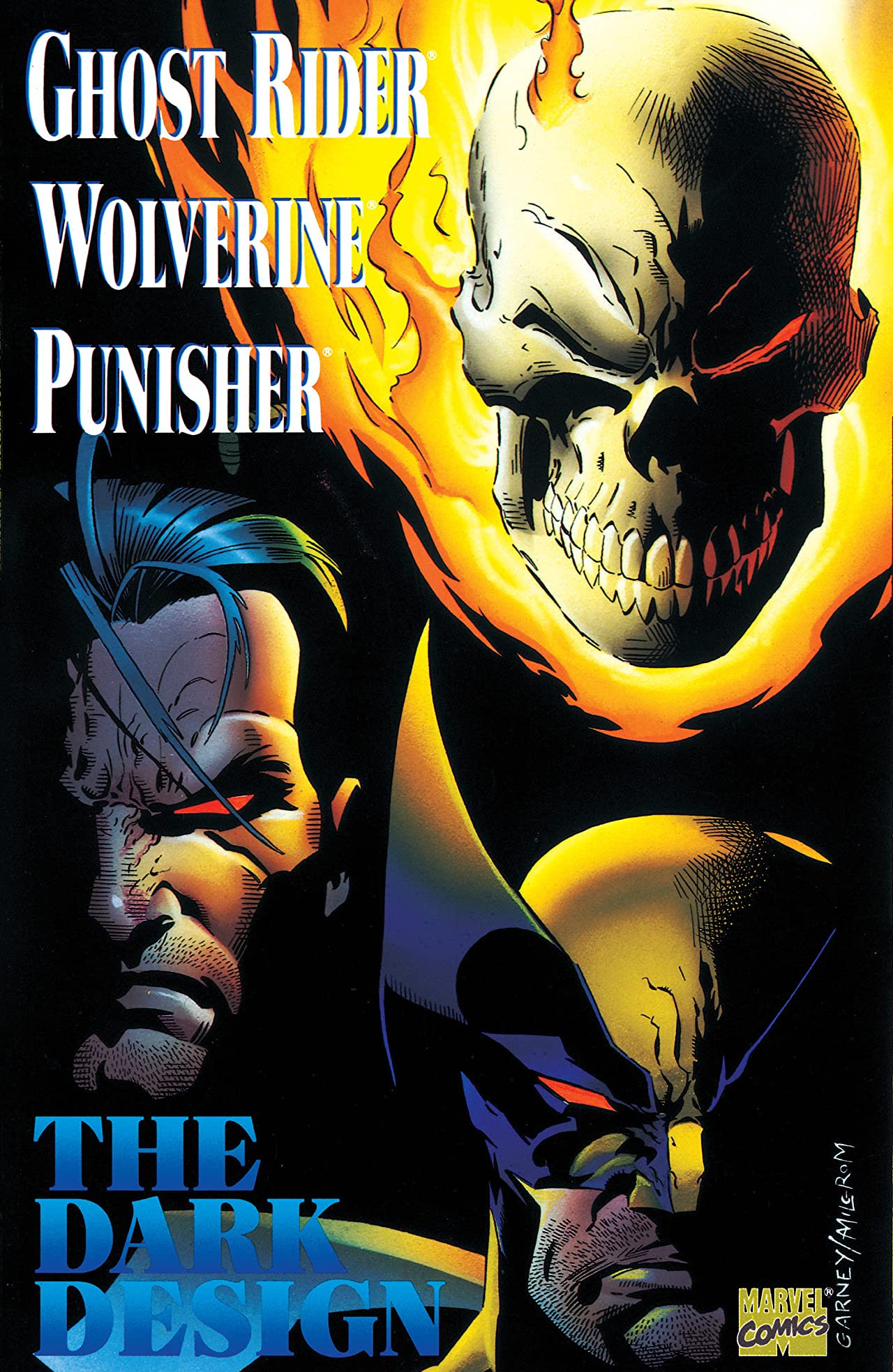Ghost Rider/Wolverine/Punisher: The Dark Design Vol 1