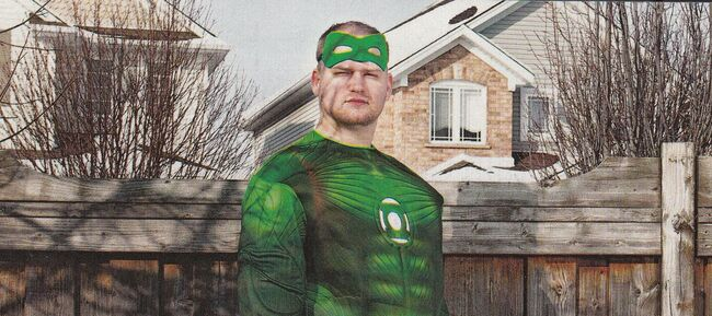In Brightest Day, indeed... I couldn't stop squinting!