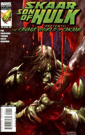 Skaar Son of Hulk Presents - Savage World of Sakaar Vol 1 1.jpg