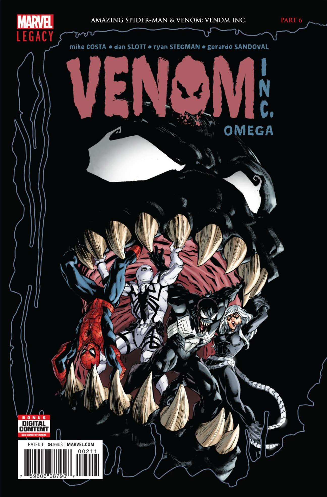 Amazing Spider-Man: Venom Inc. Omega Vol 1 1