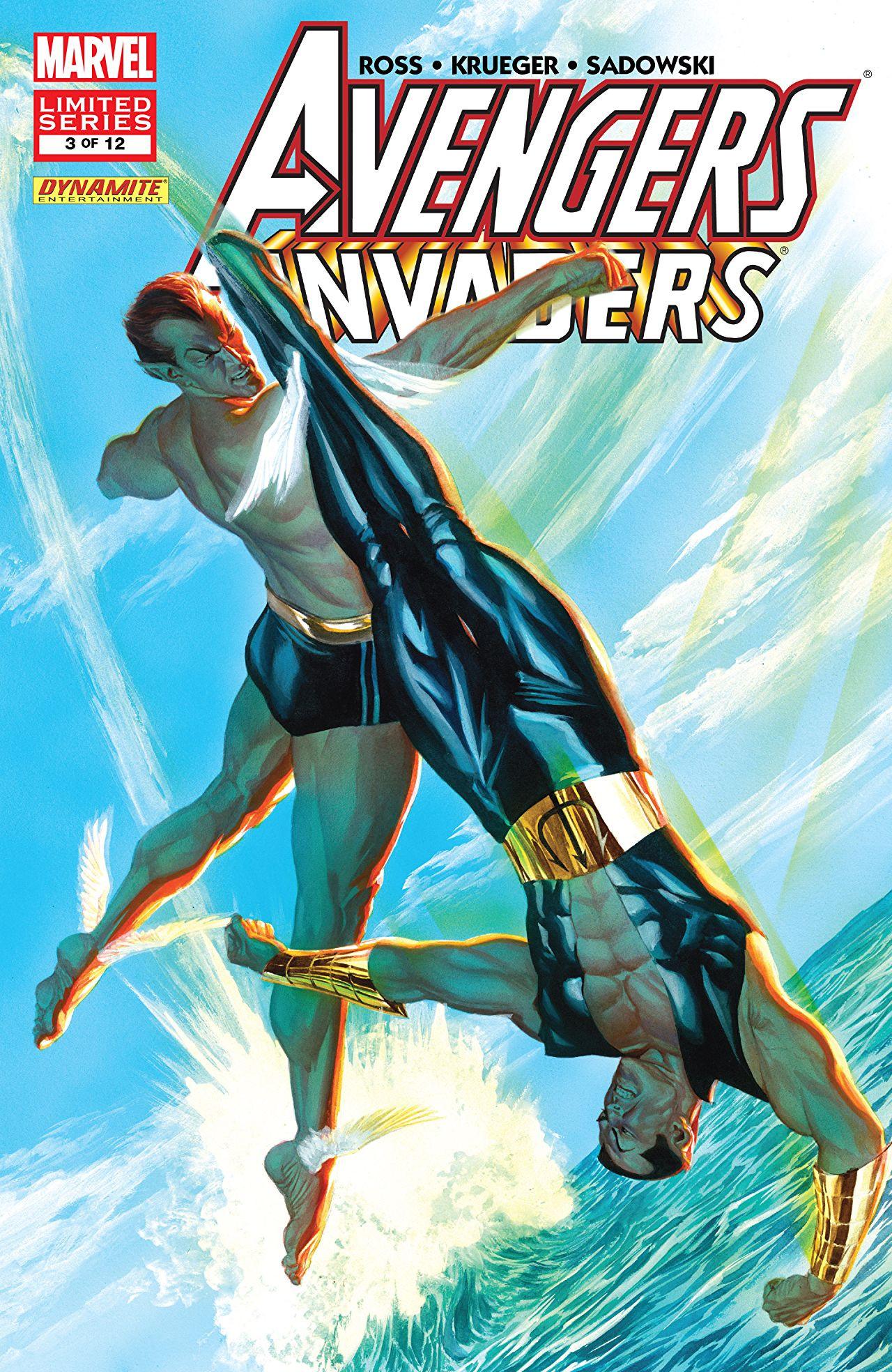 Avengers / Invaders Vol 1 3