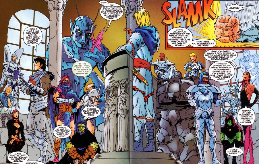 Champions of the Realm (Eurth) (Earth-616)