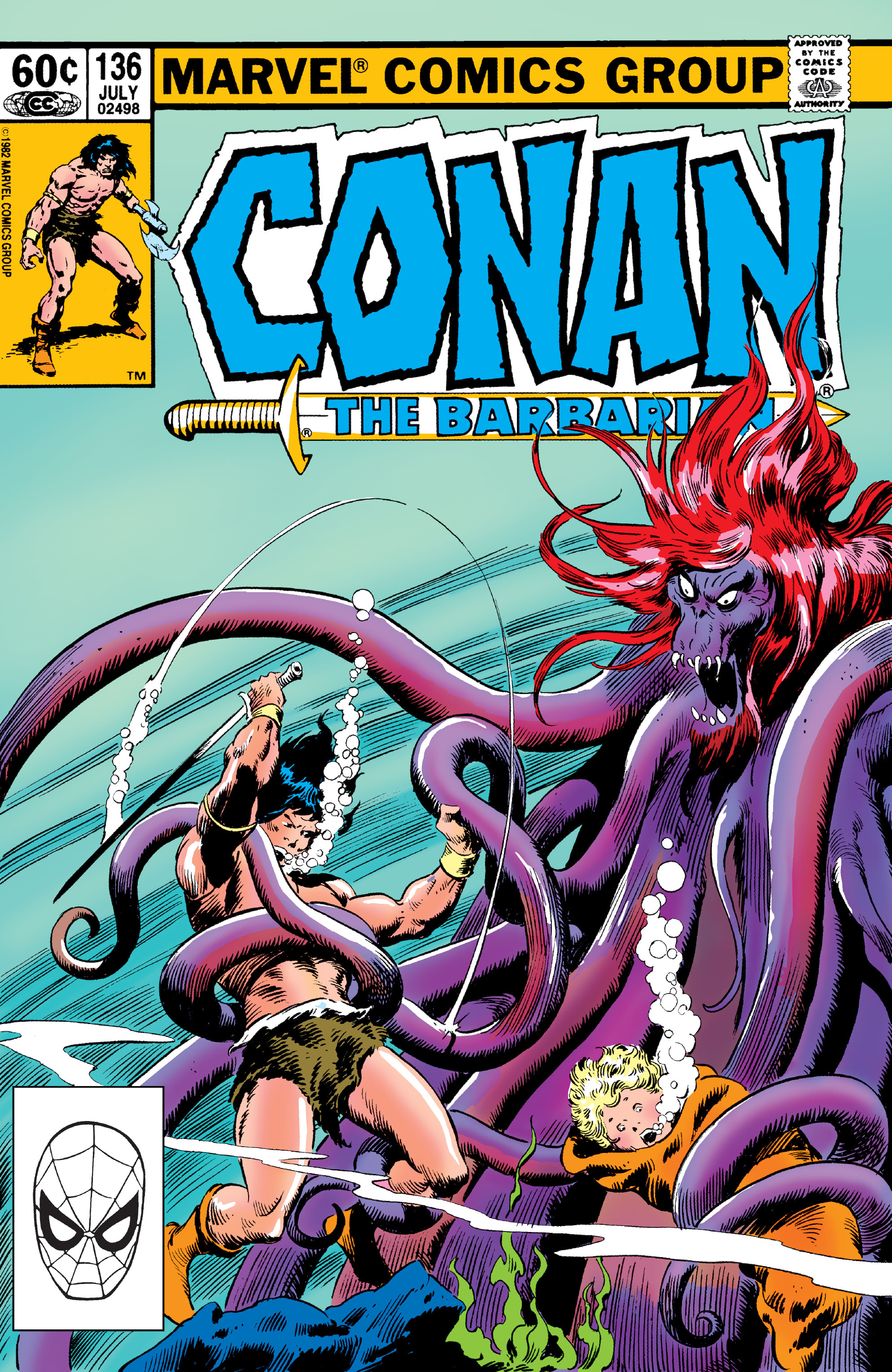 Conan the Barbarian Vol 1 136