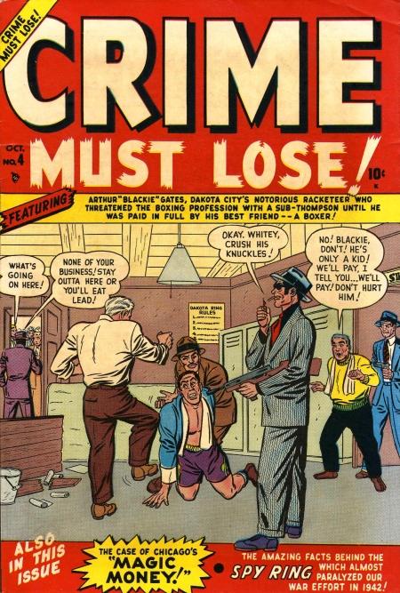 Crime Must Lose Vol 1