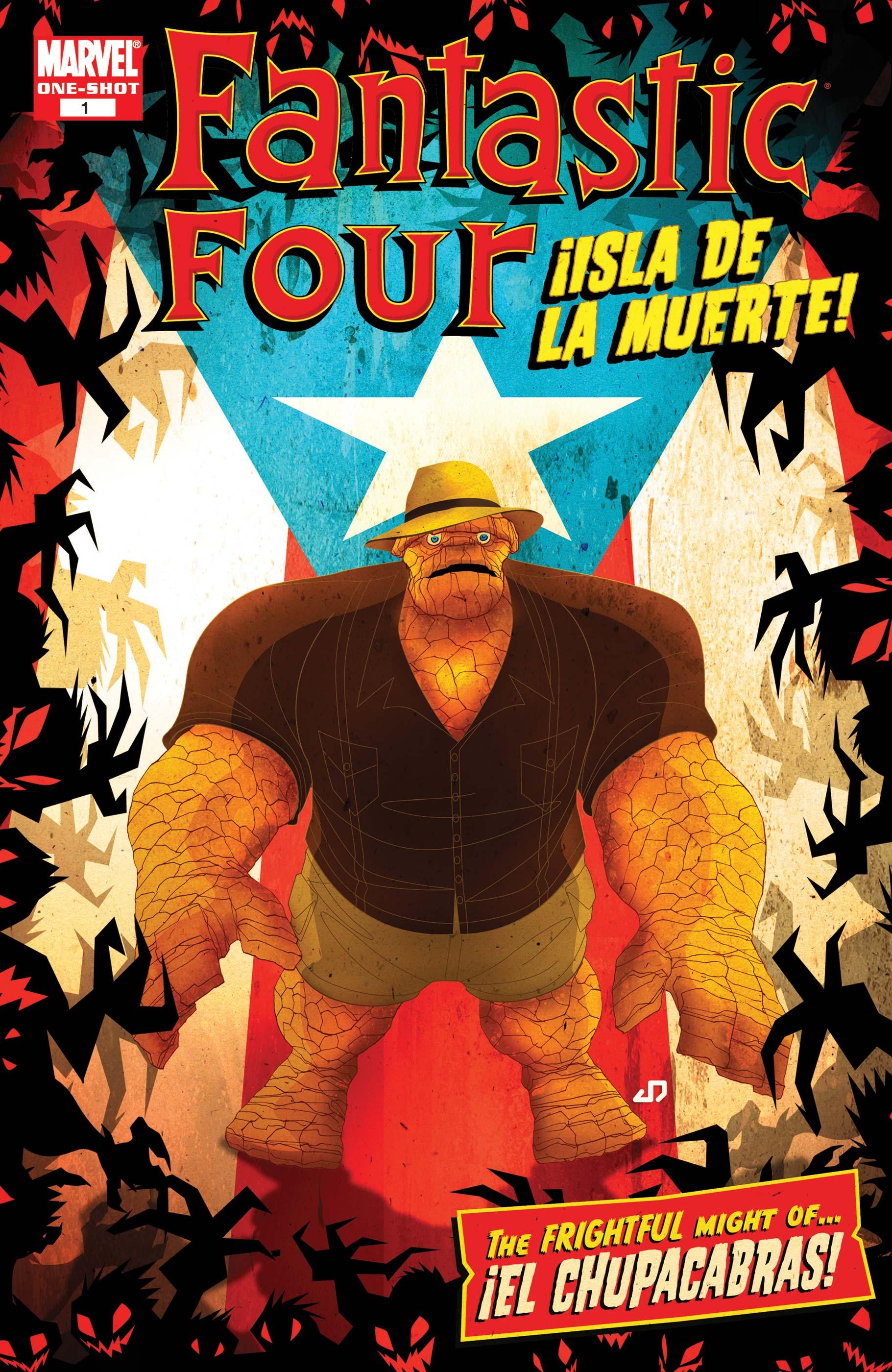 Fantastic Four: ¡Isla de la Muerte! Vol 1 1