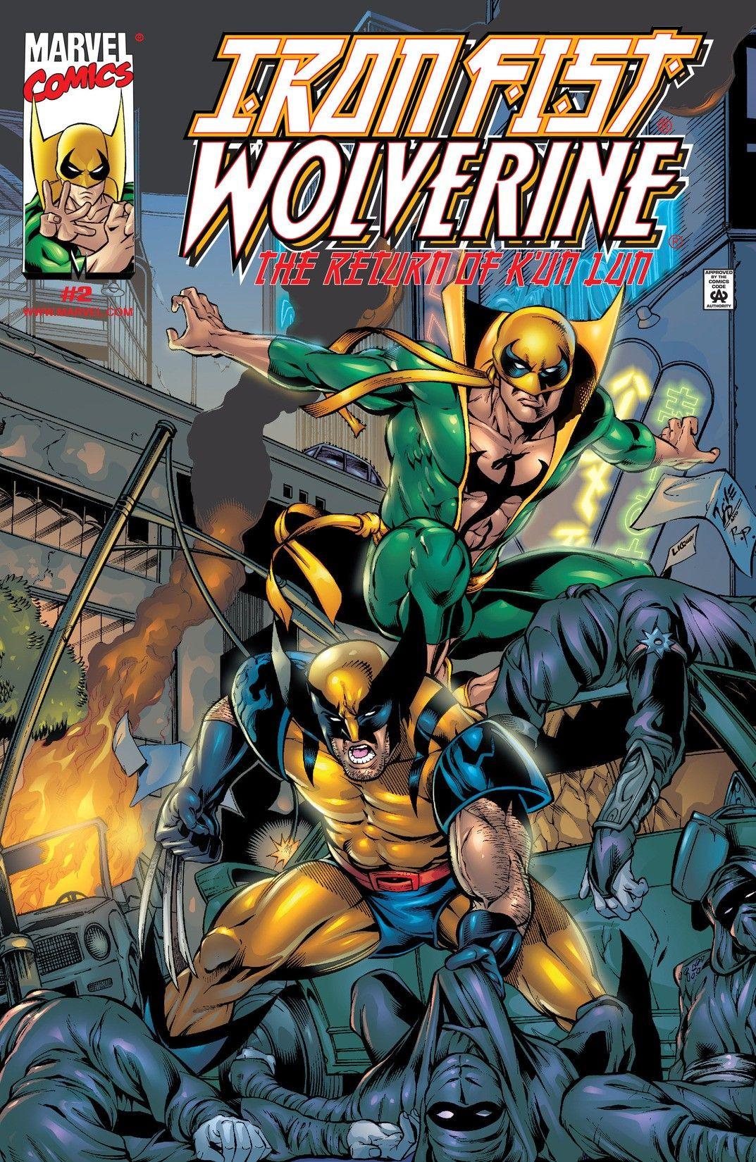 Iron Fist: Wolverine Vol 1 2