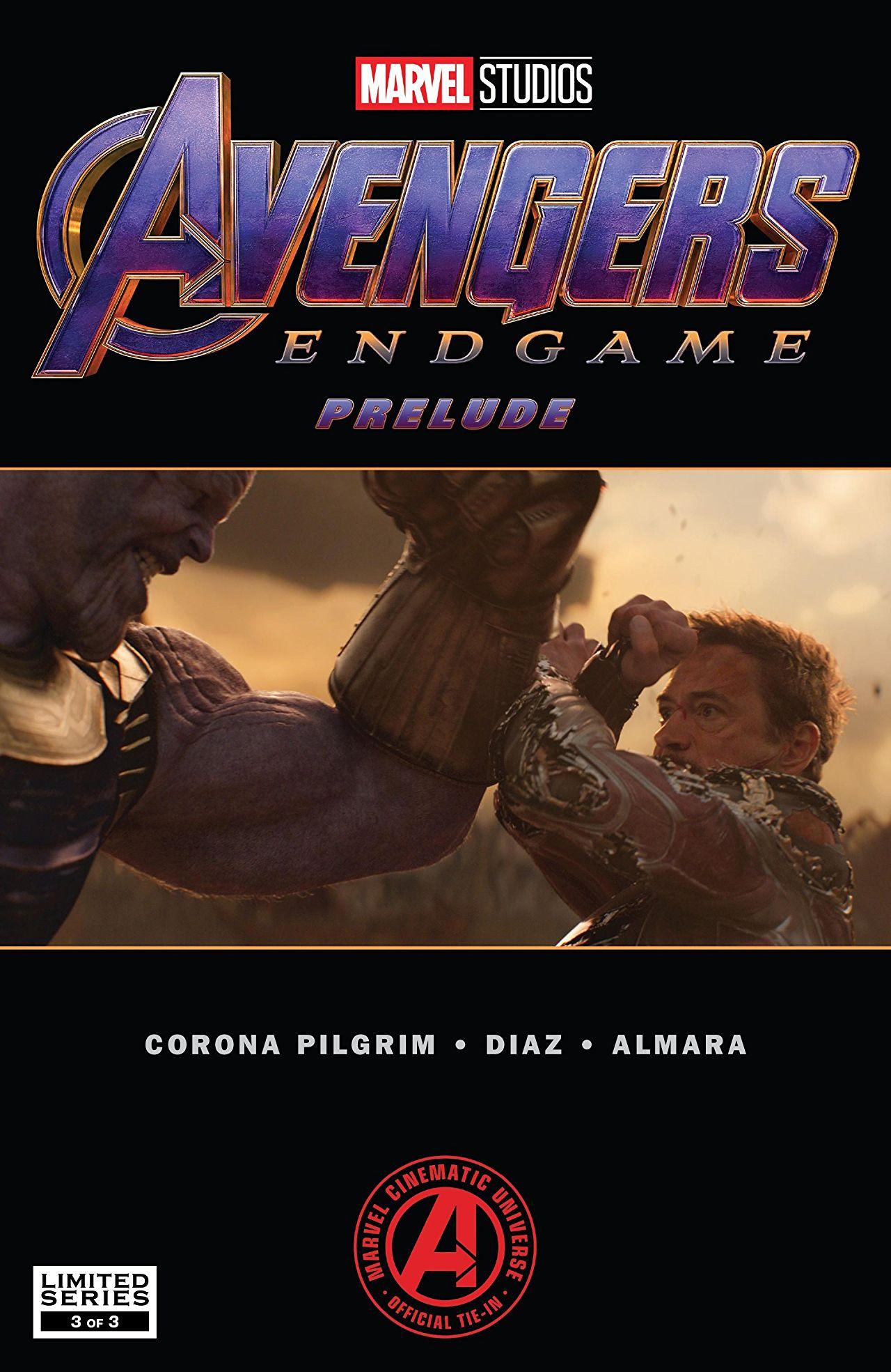 Marvel's Avengers: Endgame Prelude Vol 1 3