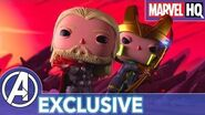 Marvel Funko Presents Mjolnir Mischief (starring Thor & Loki) EXCLUSIVE
