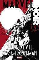 Marvel Noir Daredevil Cage Iron Man Vol 1 1