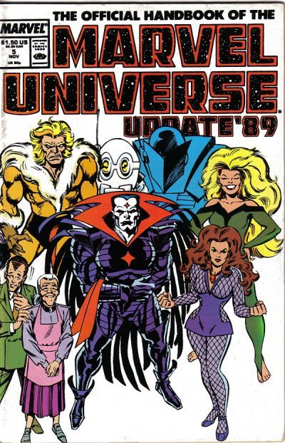 Official Handbook of the Marvel Universe Vol 3 5