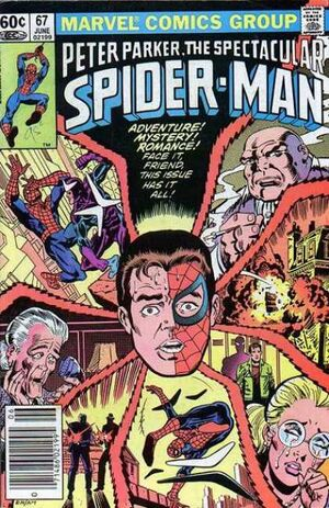 Peter Parker, The Spectacular Spider-Man Vol 1 67.jpg