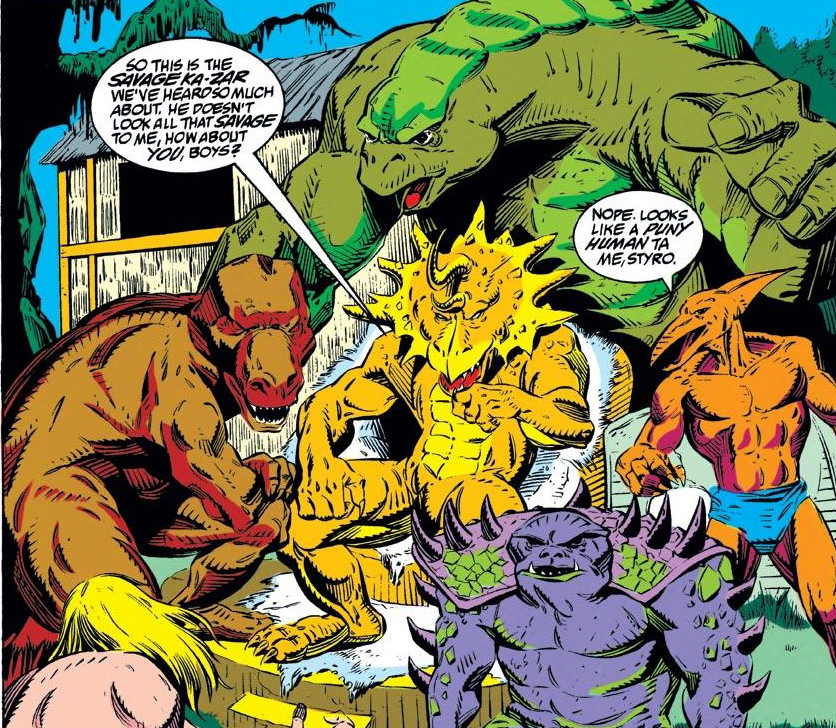 Saur-Lords (Earth-616)/Gallery