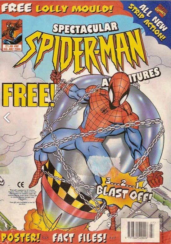 Spectacular Spider-Man (UK) Vol 1 62