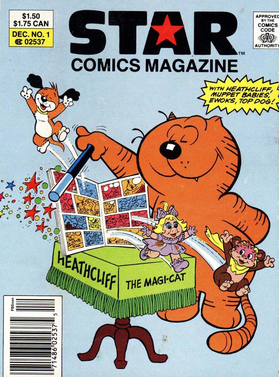 Star Comics Magazine Vol 1 1