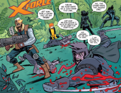 X-Force (Earth-TRN656) from X-Men Worst X-Man Ever Vol 1 2 001.png