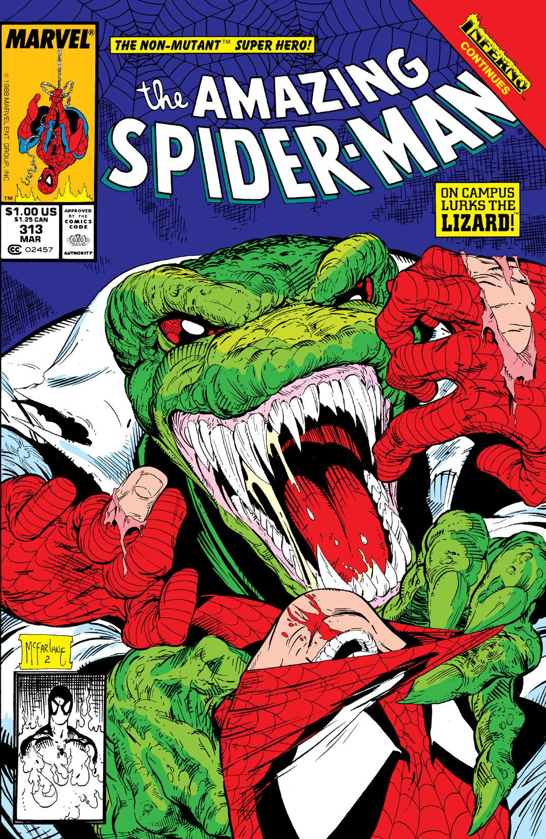 Amazing Spider-Man Vol 1 313