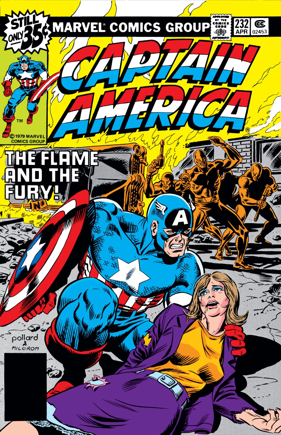Captain America Vol 1 232