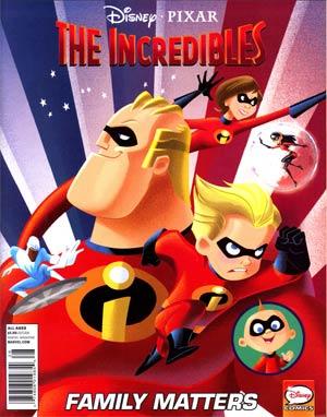 Disney Pixar Presents: Incredibles - Family Matters Vol 1 1