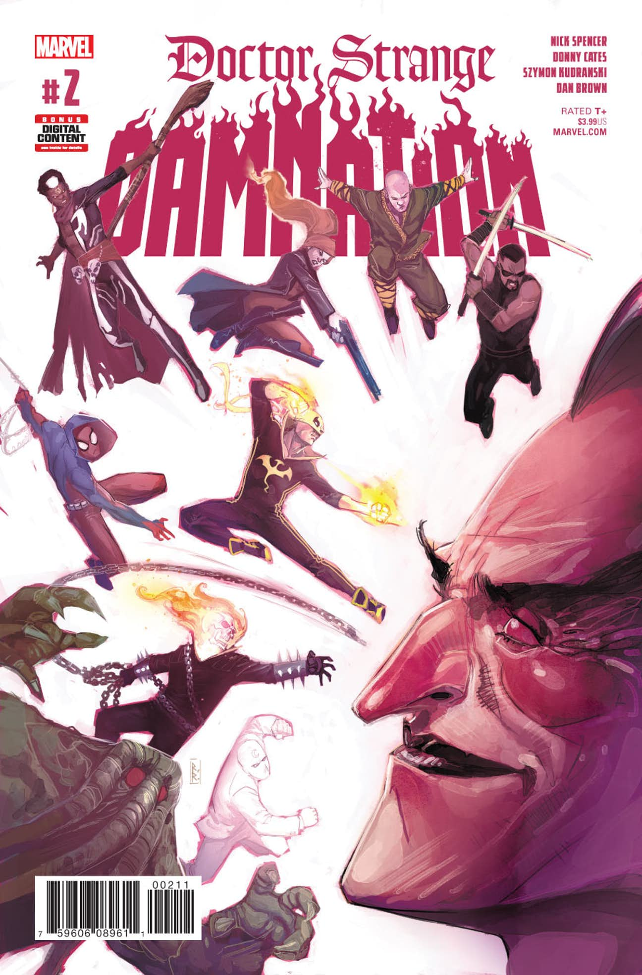 Doctor Strange: Damnation Vol 1 2