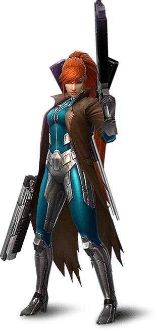 Elsa Bloodstone (Earth-TRN012)