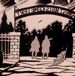 Forest Hills Cemetery from Spider-Man Holiday Special Vol 1 1995 001.png