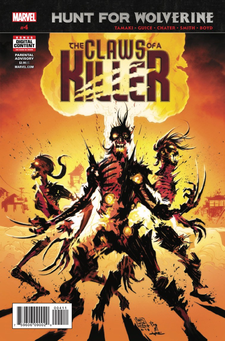 Hunt for Wolverine: Claws of a Killer Vol 1 4