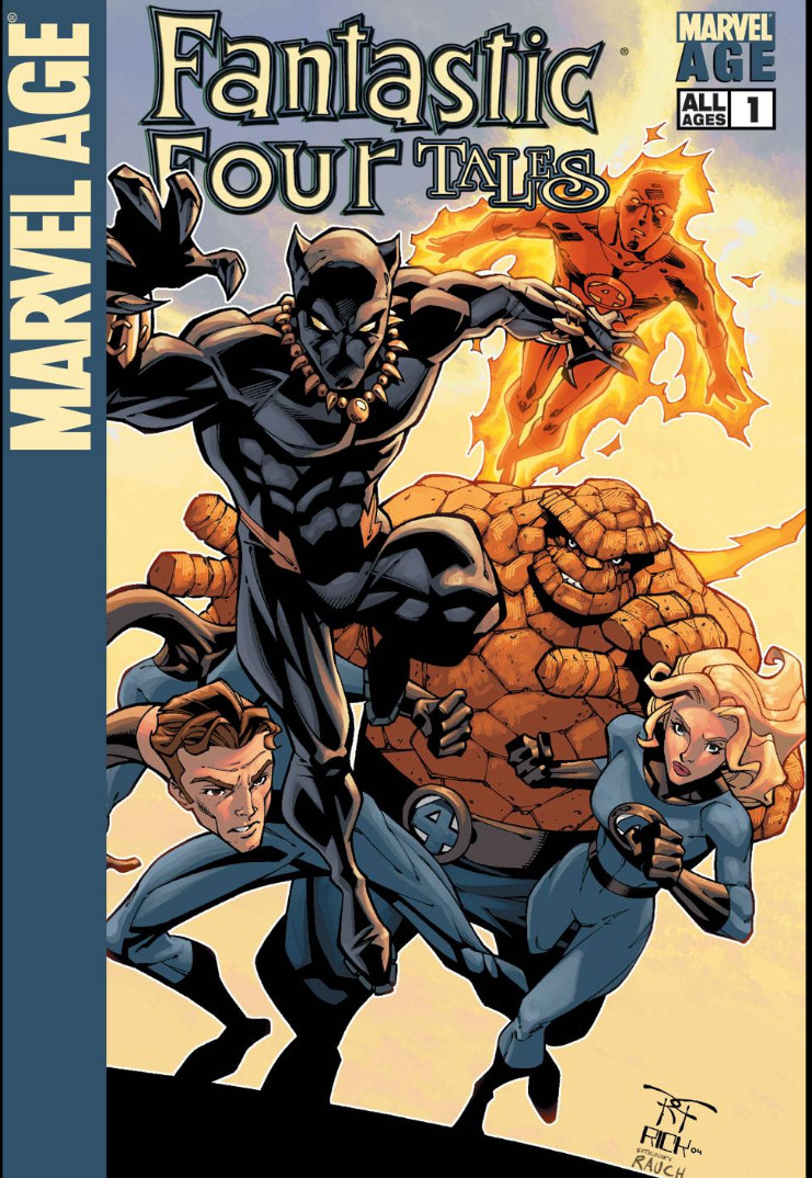 Marvel Age: Fantastic Four Tales Vol 1 1