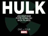 Marvel Knights: Hulk Vol 1 1