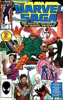 Marvel Saga the Official History of the Marvel Universe Vol 1 1