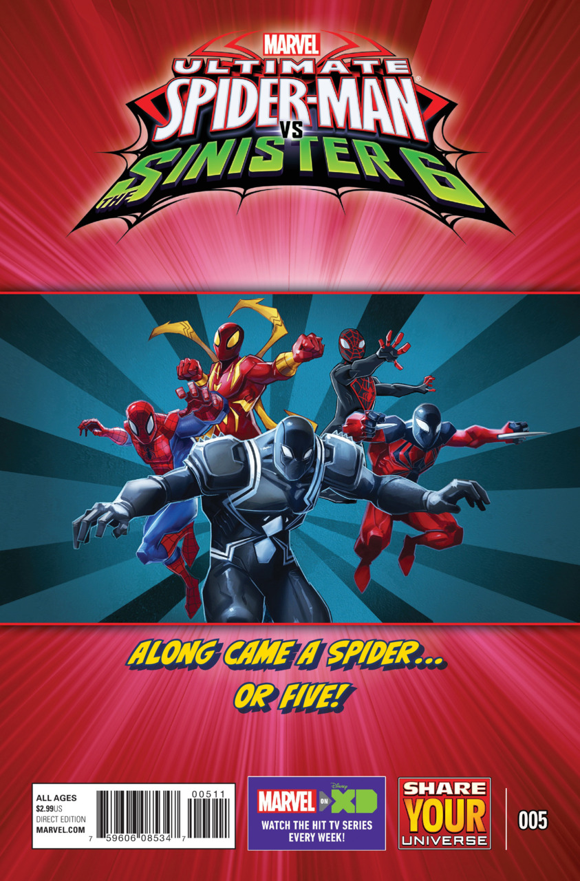 Marvel Universe Ultimate Spider-Man vs. the Sinister Six Vol 1 5