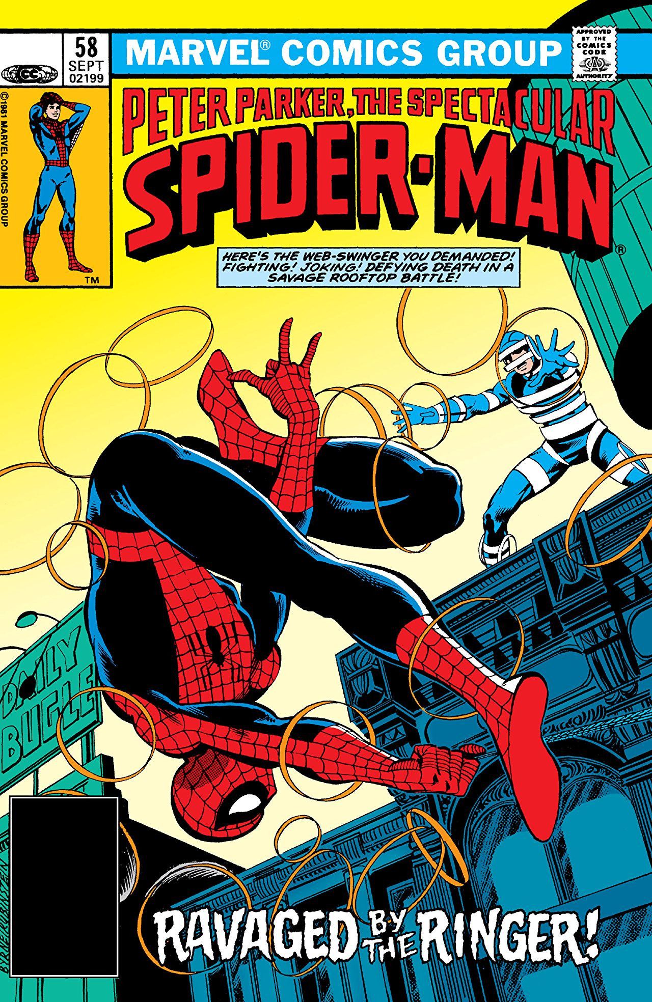 Peter Parker, The Spectacular Spider-Man Vol 1 58