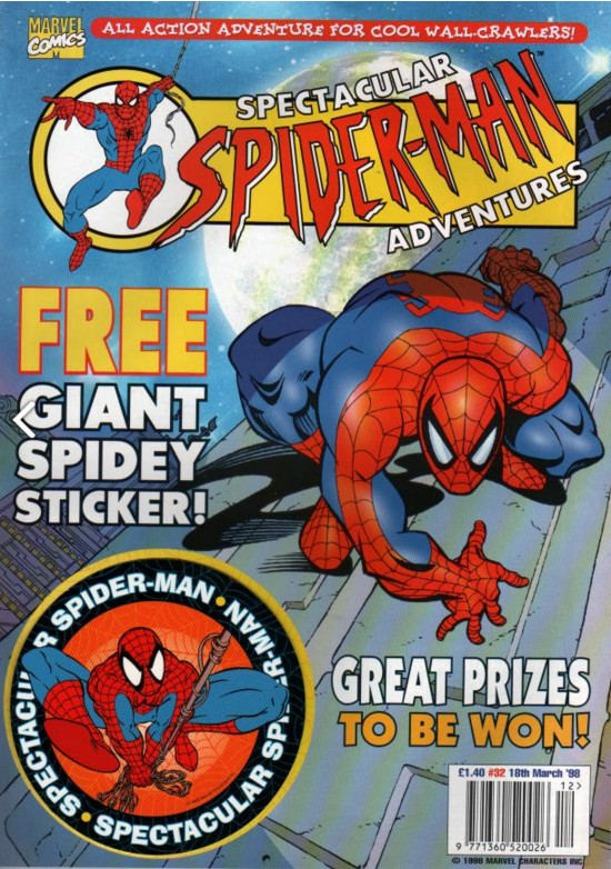 Spectacular Spider-Man (UK) Vol 1 32