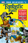 True Believers Fantastic Four - Skrulls Vol 1 1