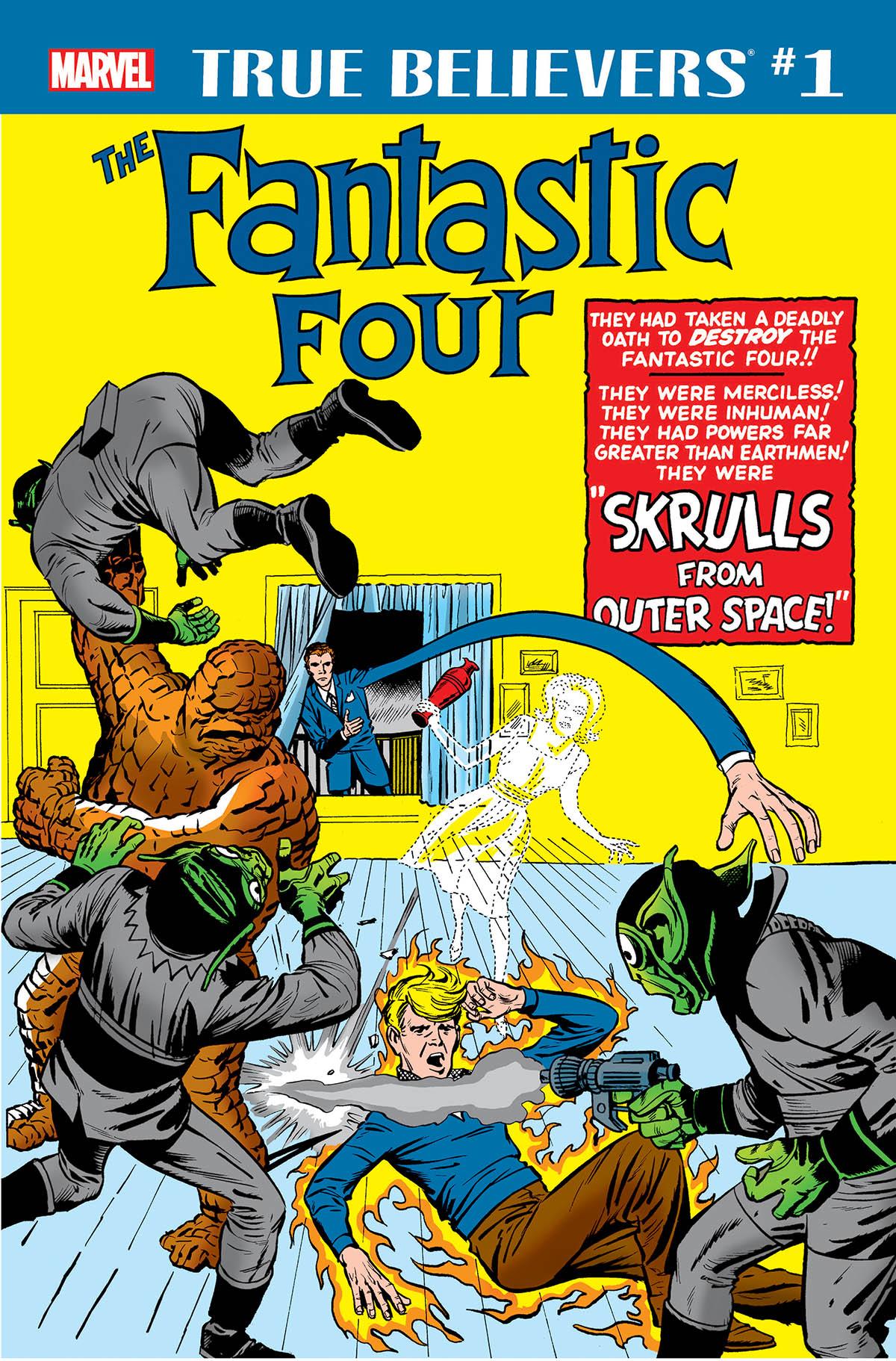 True Believers: Fantastic Four - Skrulls Vol 1 1