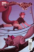Unbeatable Squirrel Girl Vol 1 2 Quinones Variant