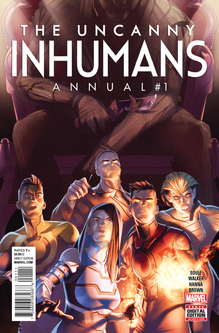Uncanny Inhumans Annual Vol 1 1