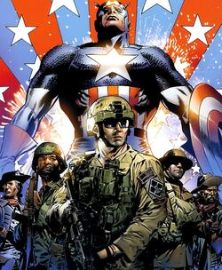 United States Army (Earth-616) from Captain America Theatre of War - Ghosts of My Country Vol 1 1 001.jpg
