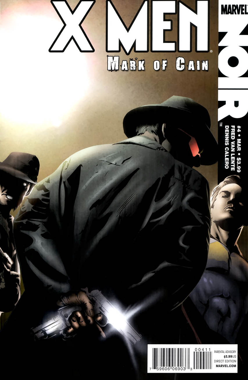 X Men Noir: Mark of Cain Vol 1 4