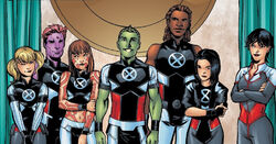 Alpha Squadron (Earth-616) from New X-Men Academy X Yearbook Vol 1 1 0001.jpg